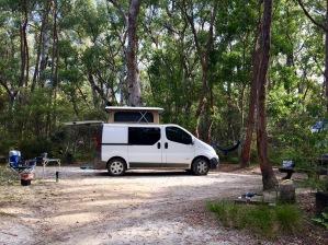 campervan clearing
